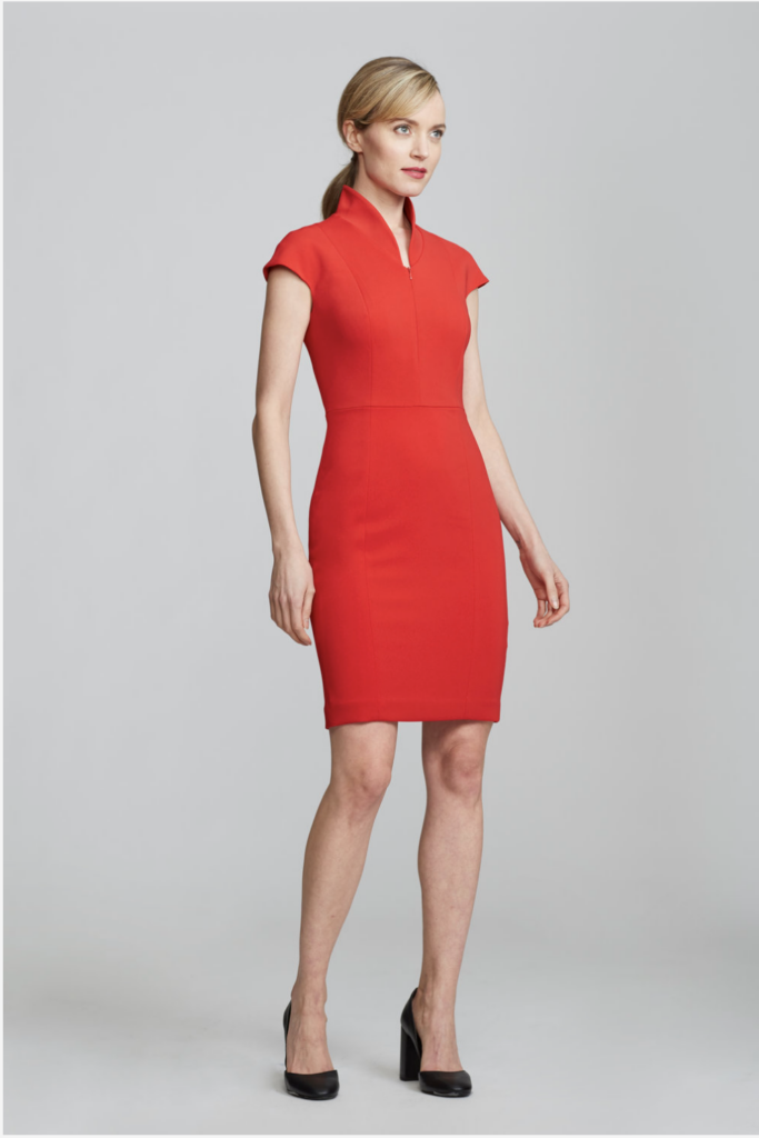 Nora Evelyn Dress Red