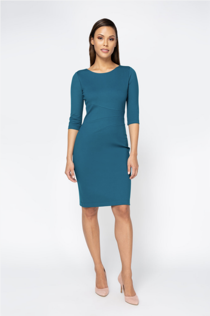 Nora Evelyn Dress Teal